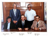 Group image of commissioners of 1980s