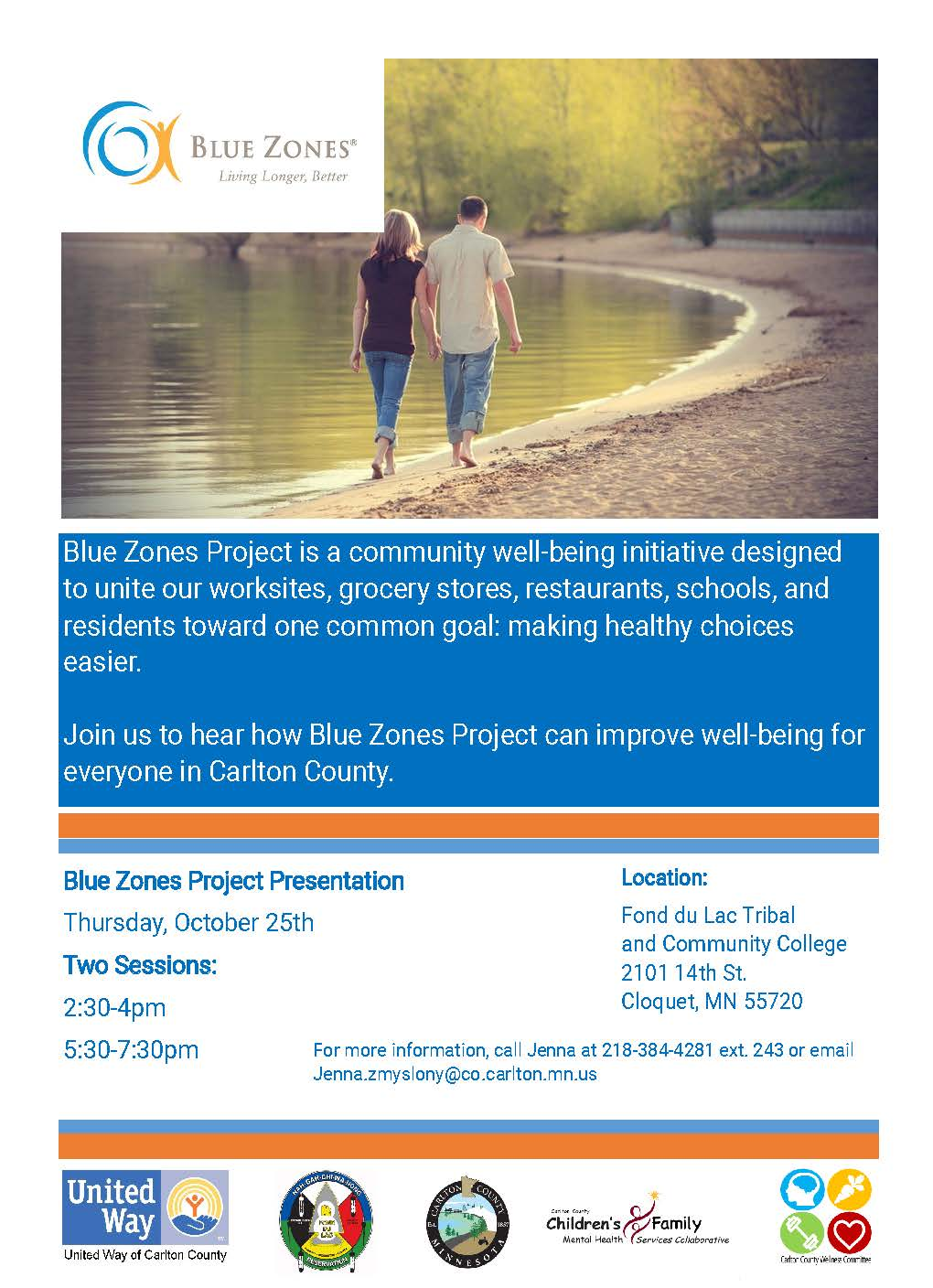 Blue Zone Flyer