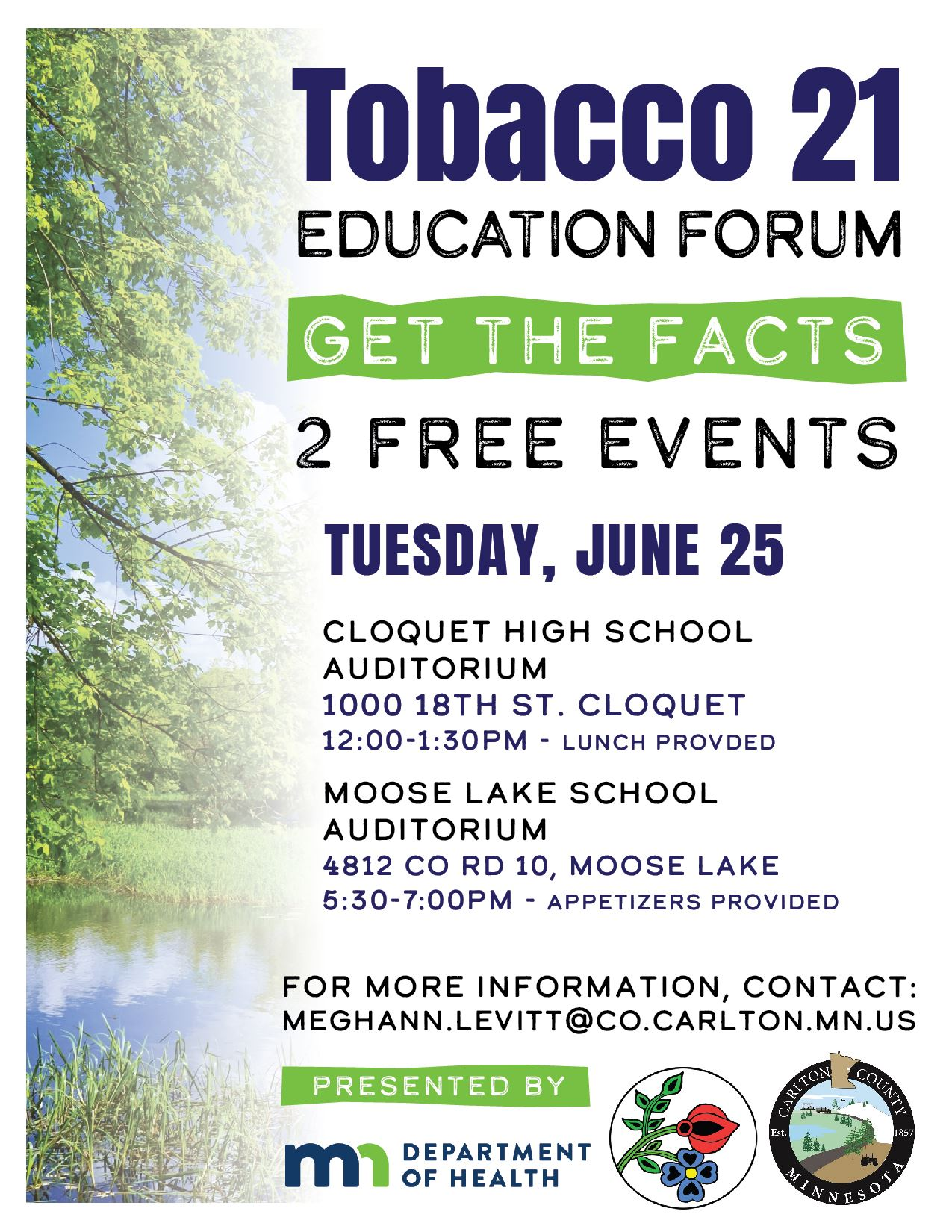 Tobacco 21 Education Forum